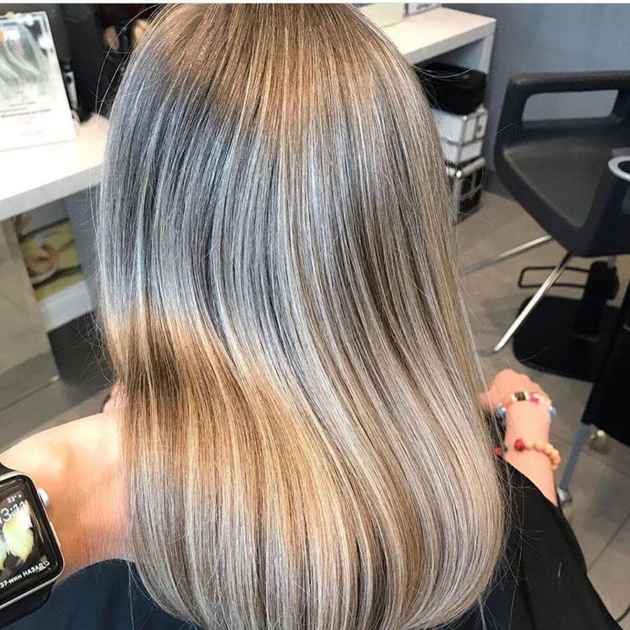 мелирование и тонирвание волос