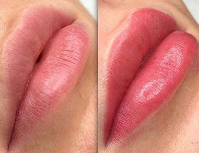 оформление губ