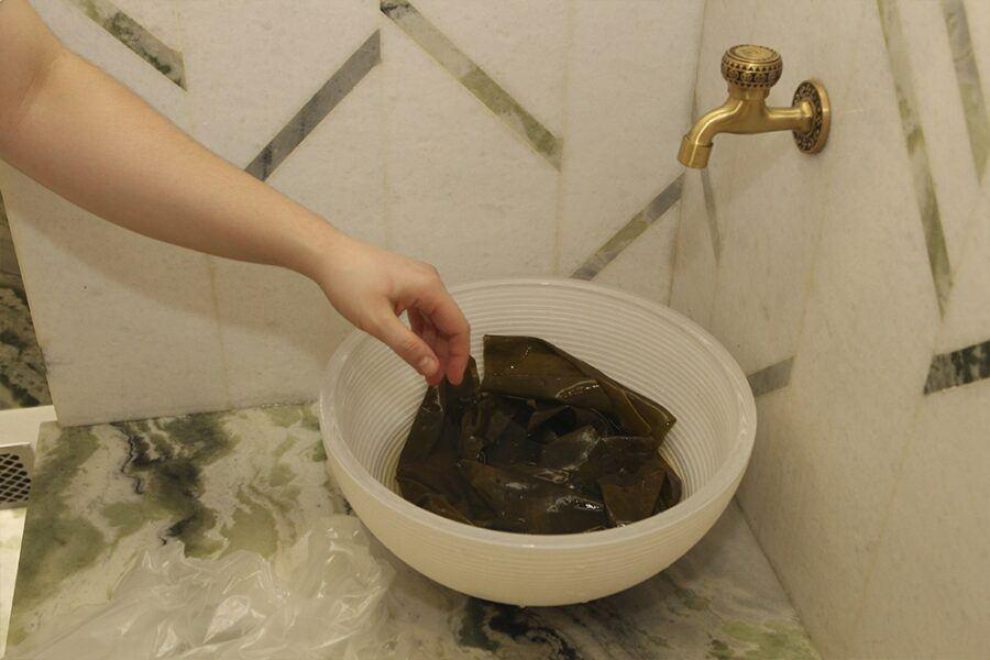 водорослевое обертывание
