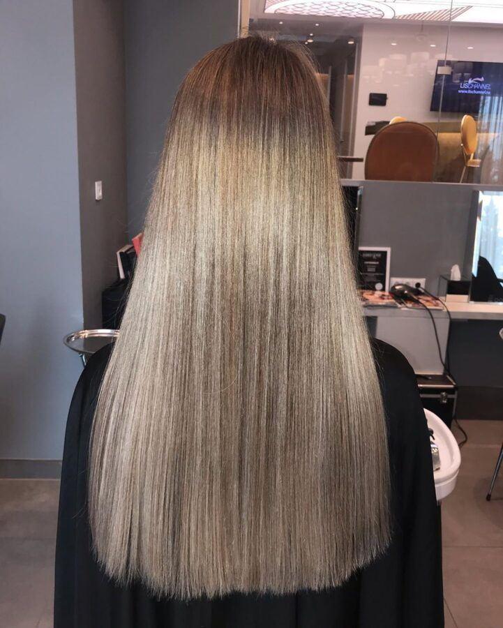 стрижка волос женская