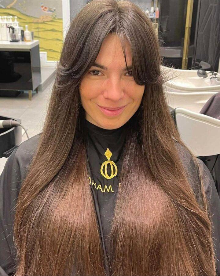 модная стрижка волос