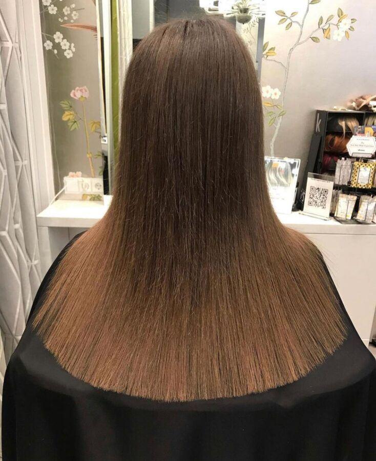 женская стрижка волос