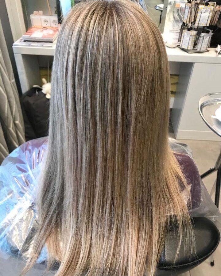 Мелирование волос от Яны Ермашовой