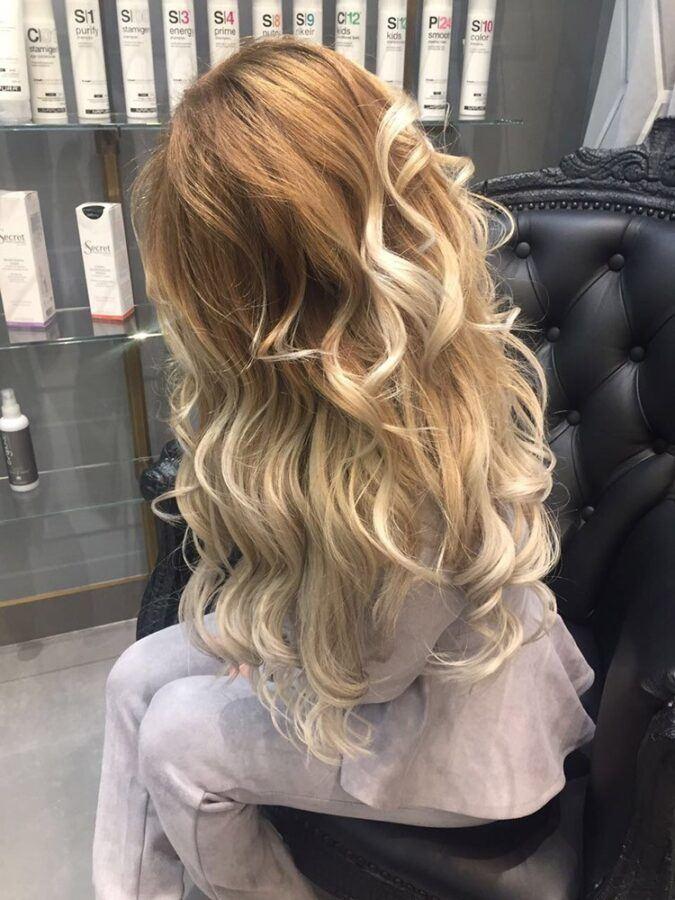 профессиональное окрашивание волос olaplex