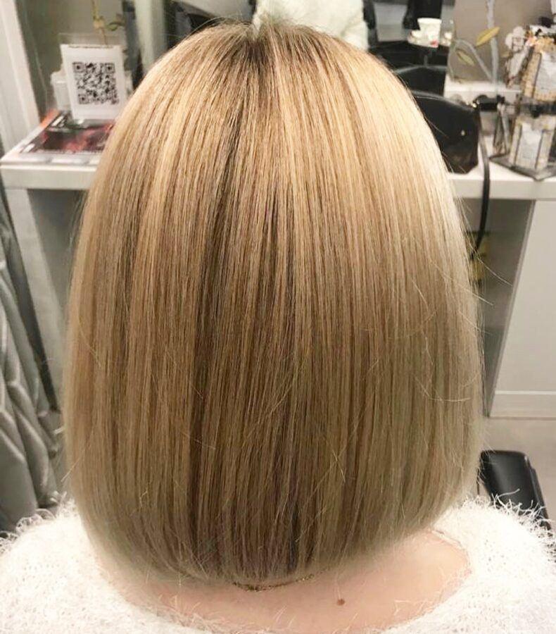 Окрашивание волос от Яны Ермашовой