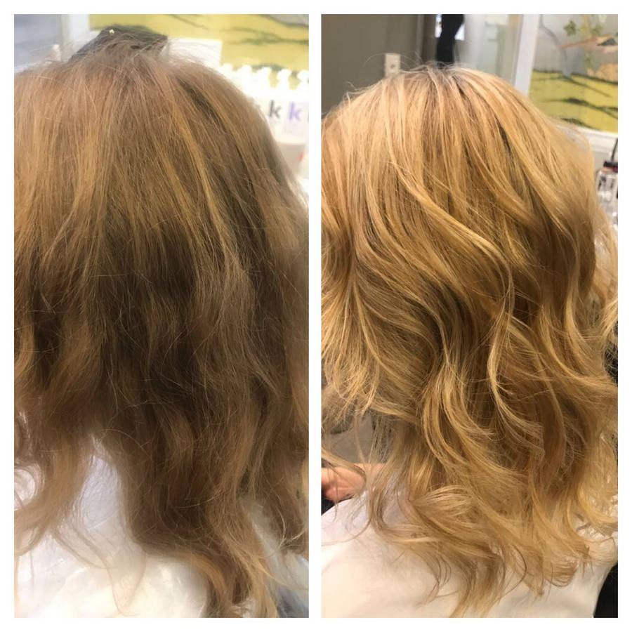 окрашивание волос стойкими красками