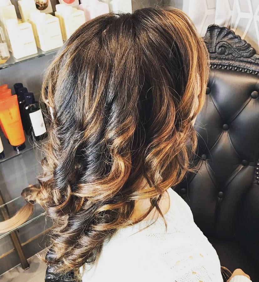 окрашивание волос оттеночными средствами