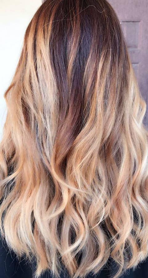 окрашивание волос краской