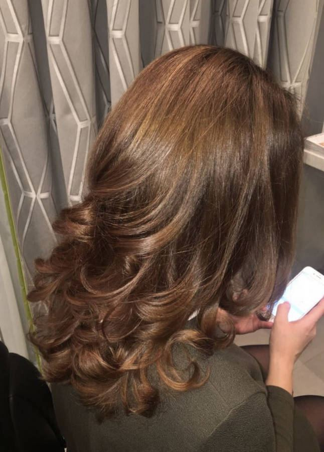 креативное окрашивание волос краской