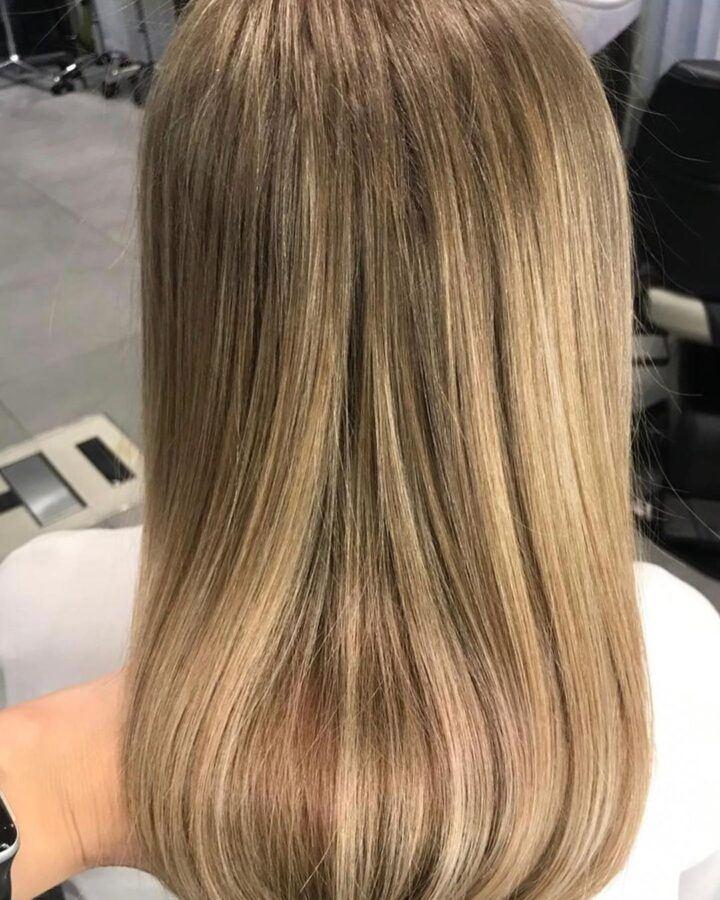 окрашивание волос в технике аиртач