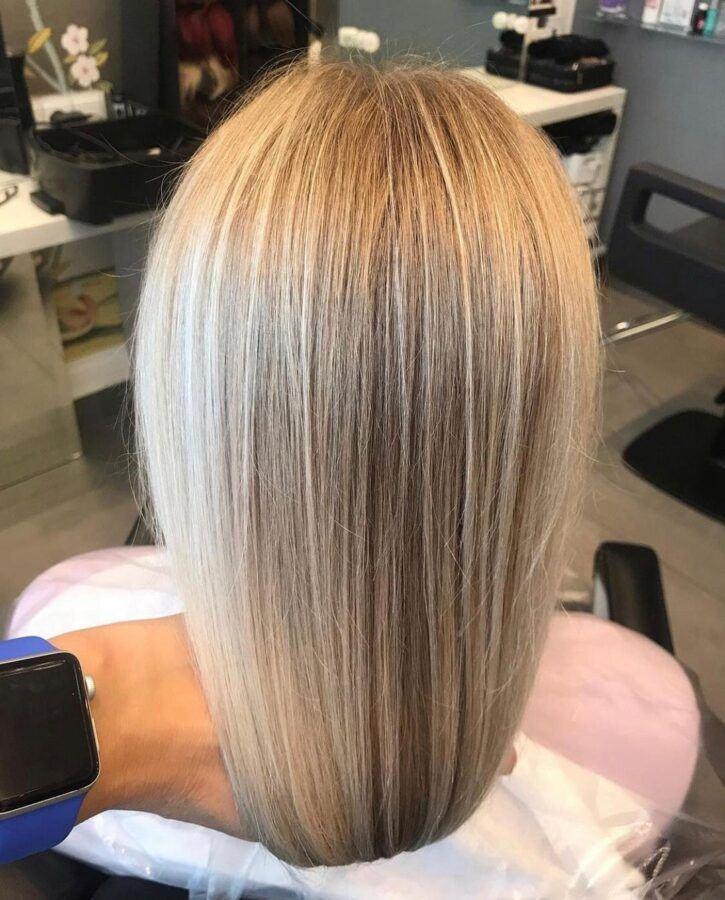 осветление волос airtouch