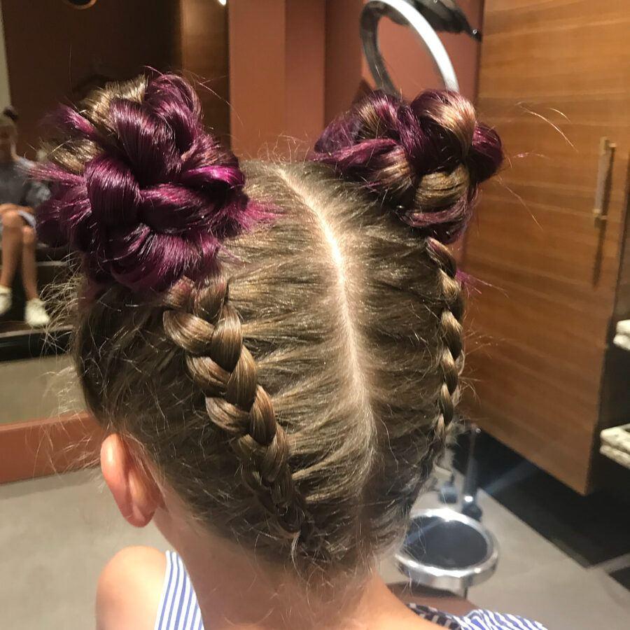 детская стрижка волос