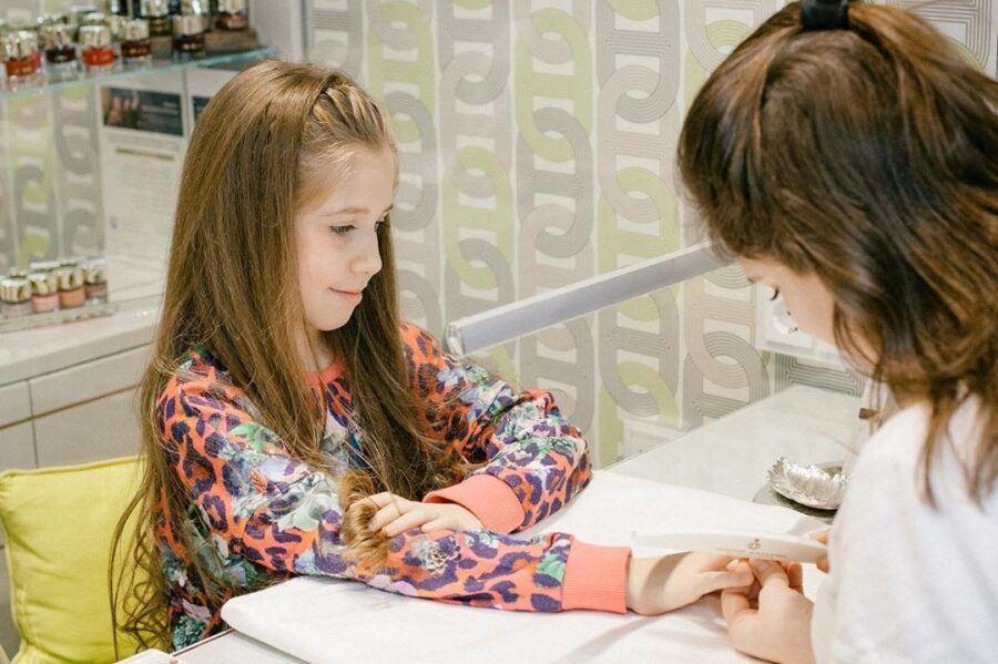 стрижка волос для детей